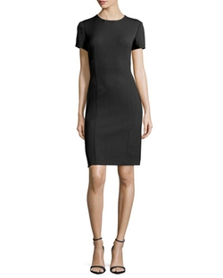 Agnona - Short-Sleeve Sheath Dress