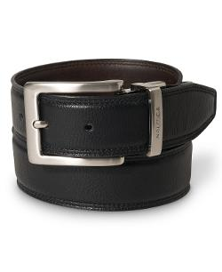 Nautica  - Reversible Leather Belt
