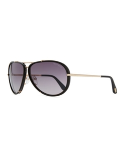 Tom Ford  - Cyrille Aviator Sunglasses