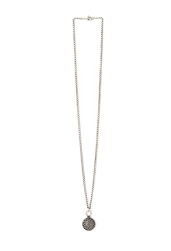 Forever 21 - Sunburst-Etched Pendant Necklace