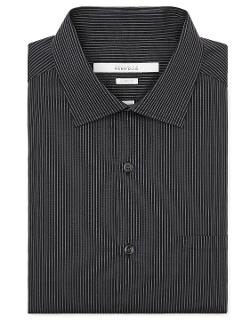 Perry Ellis International - Classic Fit Thin Pinstripe Dress Shirt