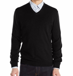 Calvin Klein - Modal Solid V-Neck Sweater