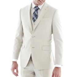 J.F. J Ferrar  - Slim Fit Bone Suit Jacket