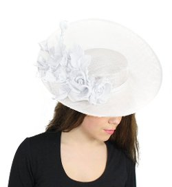 Hats By Cressida - Royal Arrival Sinamay Derby Hat