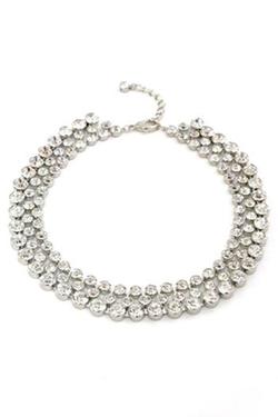 Int - Crystal Choker Necklace
