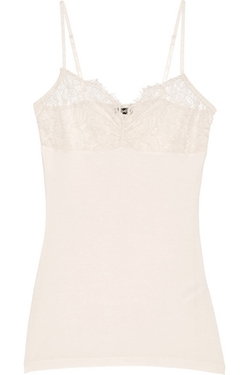 Malene Birger - Wasikio Stretch-Modal And Lace Camisole