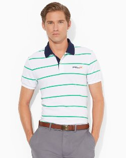 Ralph Lauren - Custom-Fit Striped Polo Shirt