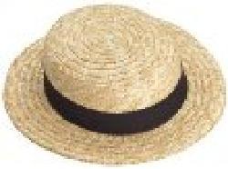 Forum Novelties Inc. - Straw Skimmer Hat