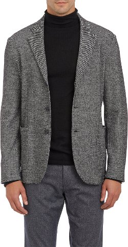 Barneys New York   - Tweed Three-button Sport Coat