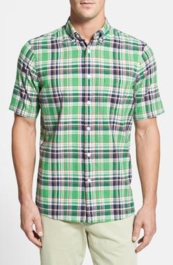 Nordstrom - Regular Fit Short Sleeve Sport Shirt