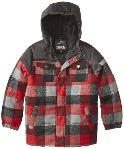 Ixtreme Outfitters - Buffalo Plaid Puffer Jacket