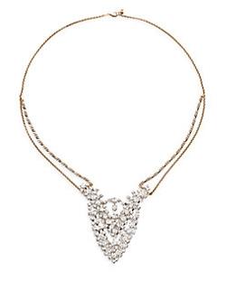 Serefina  - Jeweled Bib Necklace