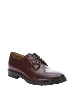 Brunello Cucinelli  - Leather Lace-up Oxford Shoes
