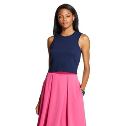 Leyden - Sleeveless Crop Top