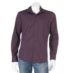 Apt. 9 - Slim-Fit Striped Spread-Collar Casual Button-Down Shirt