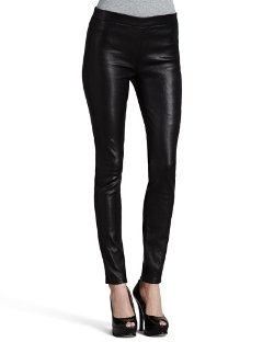 J Brand Jeans	  - Leather Leggings with Elastic Waist