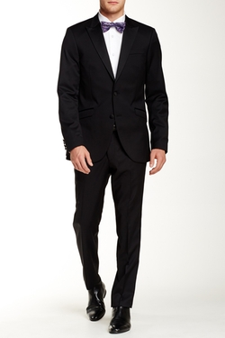 Tiger of Sweden  - Two Button Peak Lapel Wool Suit