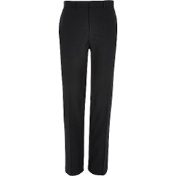 River Island - Black Smart Classic Suit Pants