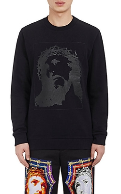 Givenchy - Iconography-Graphic Fleece Sweatshirt