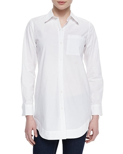 Nm Exclusive - Boyfriend Long Oxford Shirt