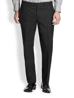 Saks Fifth Avenue Collection  - Modern-Fit Wool Trousers