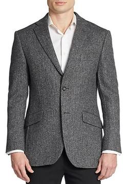 TailorByrd  - Regular-Fit Herringbone Wool Sportcoat