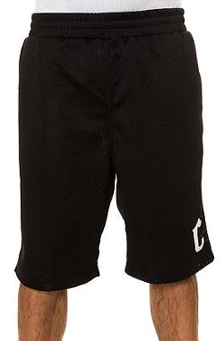 Crooks and Castles  - The Knit Basketball Short in Black