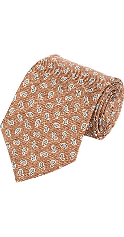 Isaia - Mini Paisley Neck Tie