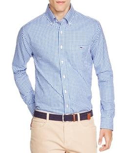 Vineyard Vines - Tucker Bayroad Gingham Slim Fit Button Down Shirt