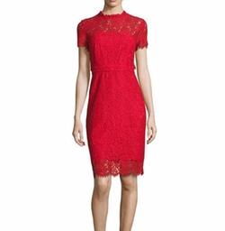 Diane von Furstenberg - Alma Lace Sheath Dress