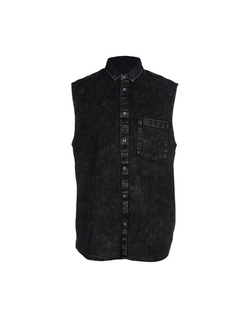 Cheap Monday  - Sleeveless Button Down Shirt