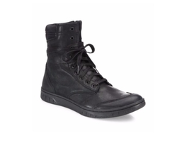 Diesel  - S-Boulevard Leather Ankle Boots
