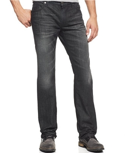 INC International Concepts - Core Velocity Dark Wash Straight Leg Jeans