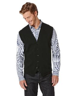 PERRY ELLIS - Milano Five-Button Vest