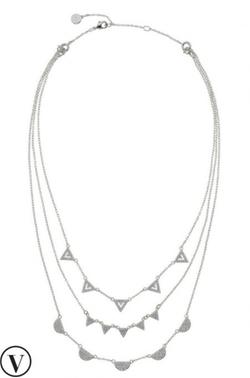 Stella & Dot - Pavé Chevron Necklace