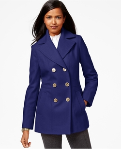 Michael Michael Kors - Double-Breasted Peacoat