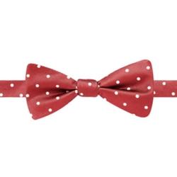 Stafford - Dot Pre-Tied Bow Tie