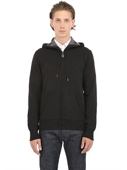 Burberry Brit  - Hooded Logoed Cotton Sweatshirt
