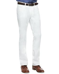 Brioni   - 5-Pocket Stretch-Twill Pants