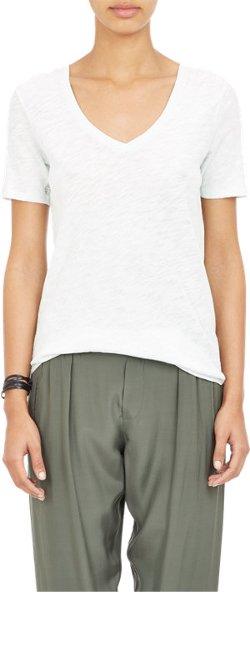 ATM Anthony Thomas Melillo  - Slub Jersey V-Neck T-Shirt