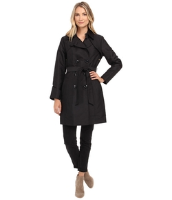 Ellen Tracy - Double Breasted Trench Coat