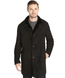 Blue Duck - Shearling Button Front Coat