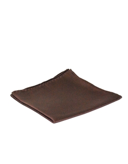 Black Brown - Silk Pocket Square