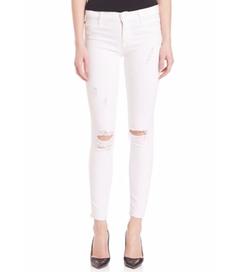 Hudson - Nico Distressed Skinny Jeans