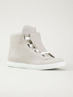 Vivienne Westwood - Three Tongue Hi-Top Sneakers