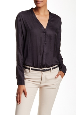 ATM Anthony Thomas Melillo - Drop Shoulder Woven Blouse