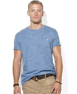 Polo Ralph Lauren  - Classic-Fit Jersey Pocket Crew-Neck T-Shirt