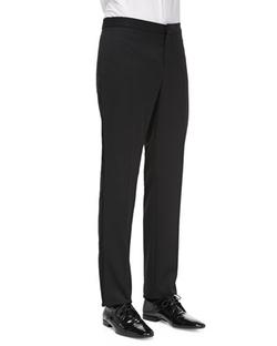 Burberry Prorsum  - Wool Tuxedo Trousers
