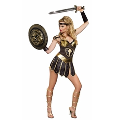 Dreamgirl - Queen Of Swords Warrior Costume