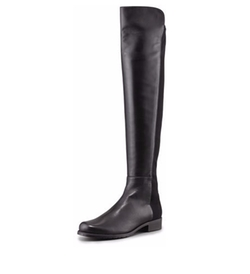 Stuart Weitzman - 50/50 Leather Over-the-Knee Boot